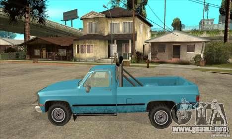 GMC Sierra 2500 para GTA San Andreas left