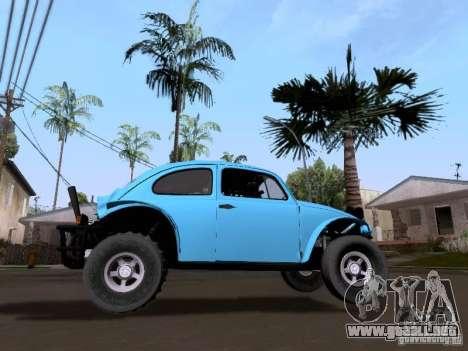 Volkswagen Buggy 1963 para GTA San Andreas vista posterior izquierda
