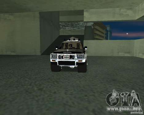 Toyota Surf v2.1 para GTA San Andreas interior