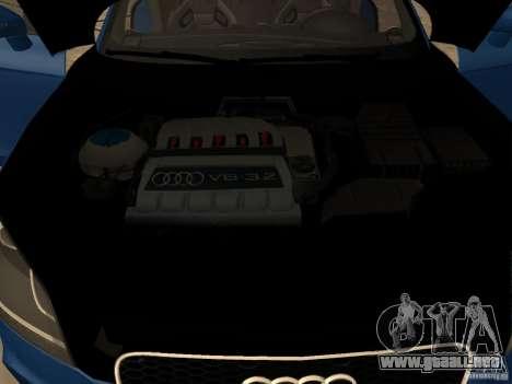 Audi TT RS para la visión correcta GTA San Andreas