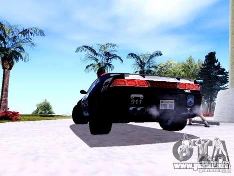 NFS Undercover Cop Car MUS para la visión correcta GTA San Andreas