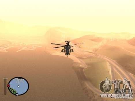 MI 28 Havok para la visión correcta GTA San Andreas