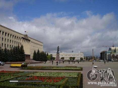 Pantalla de arranque de la ciudad de Stavropol para GTA San Andreas quinta pantalla