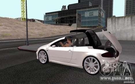 Peugeot 307CC BMS para GTA San Andreas interior