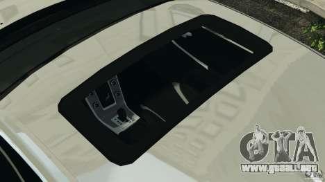 Volvo S60 R-Designs v2.0 para GTA 4 vista desde abajo