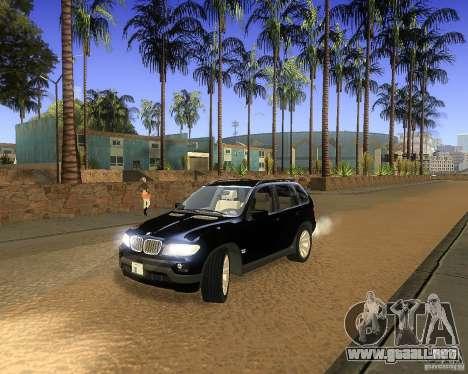 BMW X5 4.8 IS para GTA San Andreas