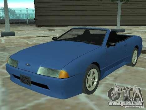 Elegía de tapas convertibles para GTA San Andreas