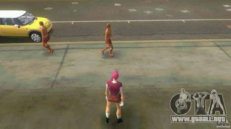 Girl Player mit 11skins para GTA Vice City twelth pantalla