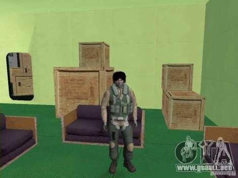 Piloto militar para GTA San Andreas