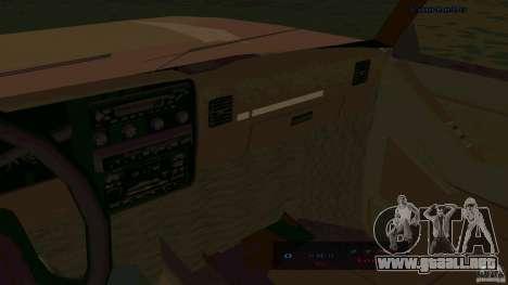 HD Huntley para GTA San Andreas vista posterior izquierda