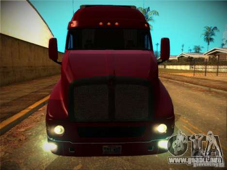 Kenworth T2000 v 2.5 para vista lateral GTA San Andreas