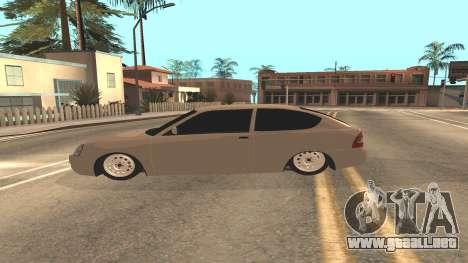 LADA Priora 2172 para GTA San Andreas vista hacia atrás