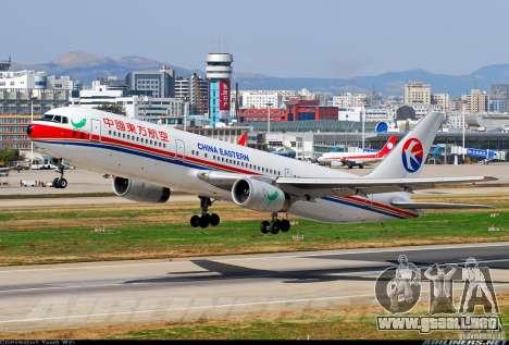 Pantallas de carga Boeing 767 para GTA San Andreas