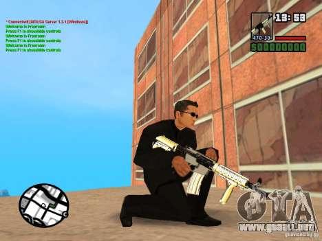 Gun Pack by MrWexler666 para GTA San Andreas décimo de pantalla
