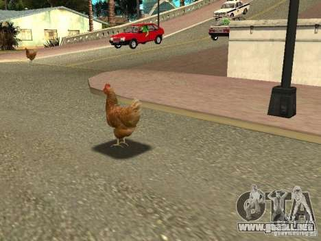 Patrulla de pollo para GTA San Andreas