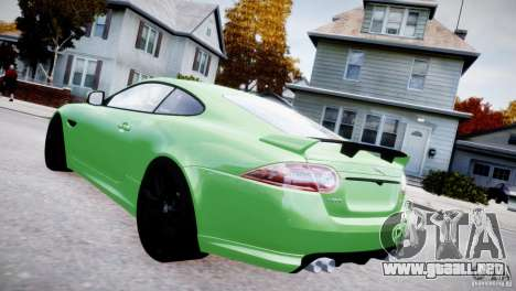 Jaguar XKR-S 2012 para GTA 4 left