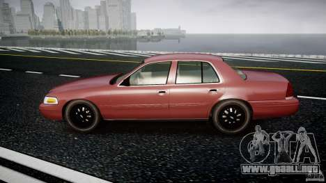 Ford Crown Victoria 2003 v.2 Civil para GTA 4 left