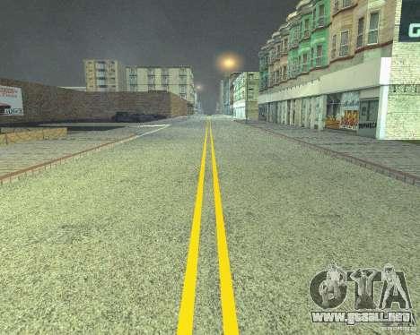 Nuevos caminos en San Fierro para GTA San Andreas