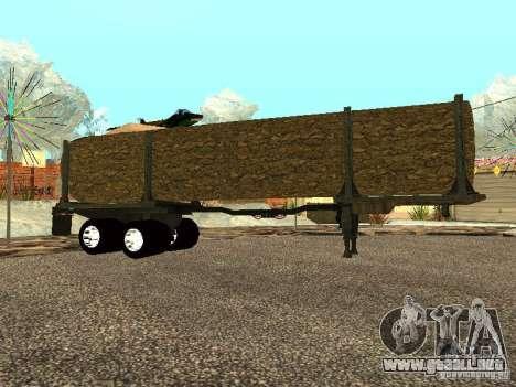 Árbol caído para GTA San Andreas left
