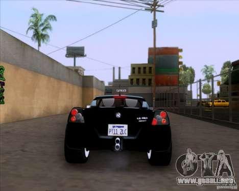 Vauxhall VX220 Turbo para la visión correcta GTA San Andreas