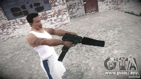 Weapon Pack by GVC Team para GTA San Andreas sucesivamente de pantalla