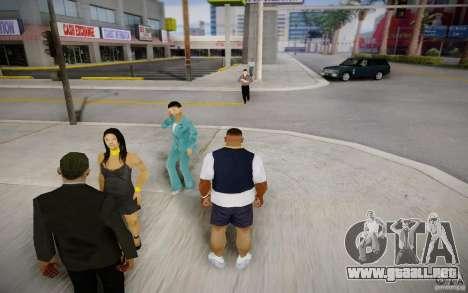Gente hablando por teléfono para GTA San Andreas segunda pantalla