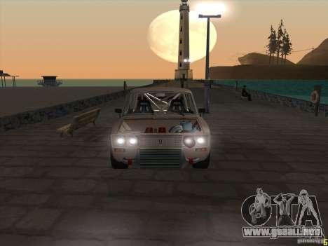 Estilo deriva 2106 Vaz para la visión correcta GTA San Andreas