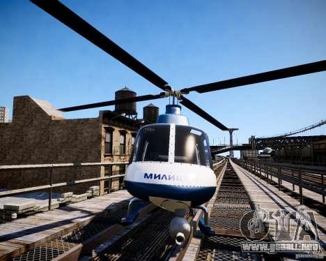 Russian Police Maverick para GTA 4 visión correcta