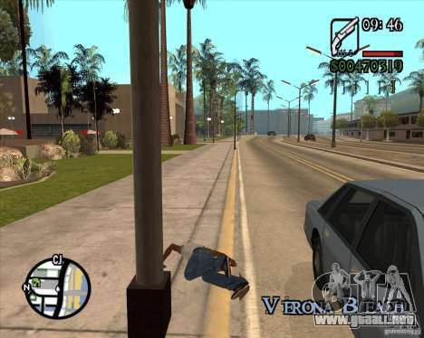 Endorphin Mod v.3 para GTA San Andreas novena de pantalla
