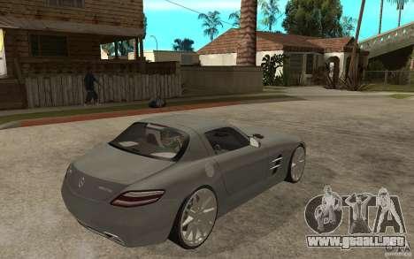 Mercedes-Benz SLS para la visión correcta GTA San Andreas