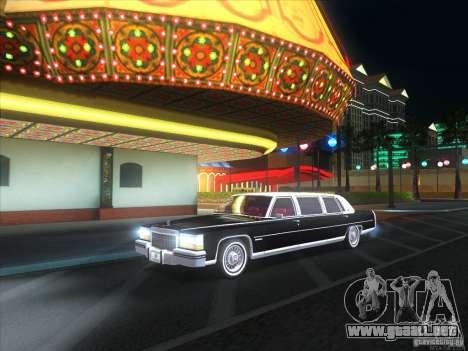 Cadillac Fleetwood Limousine 1985 para la visión correcta GTA San Andreas