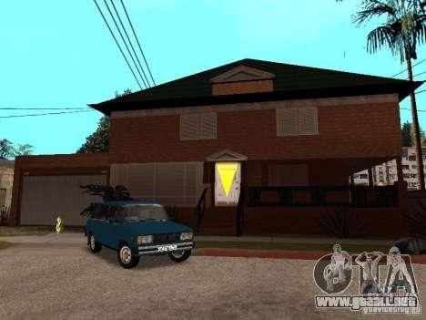 La casa de CJ en ruso para GTA San Andreas