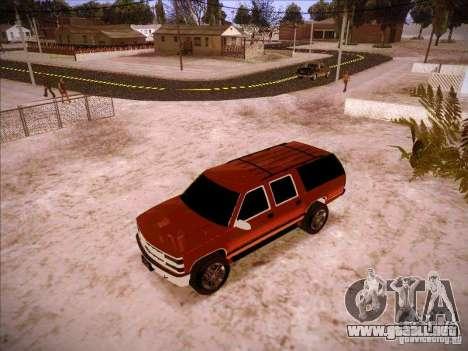 Chevrolet Suburban 1998 para GTA San Andreas left