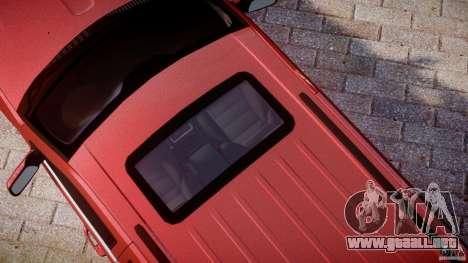 Jeep Grand Cherokee para GTA 4 vista desde abajo