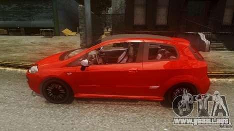 Fiat Punto Evo Sport 2010 para GTA 4 left