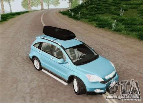 Honda CRV 2011 para visión interna GTA San Andreas
