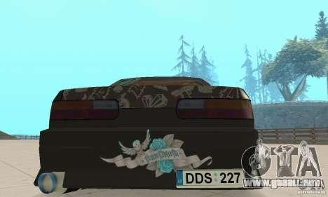 Nissan Silvia S13 NonGrata para visión interna GTA San Andreas