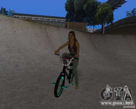 Tony Hawks Emily para GTA San Andreas