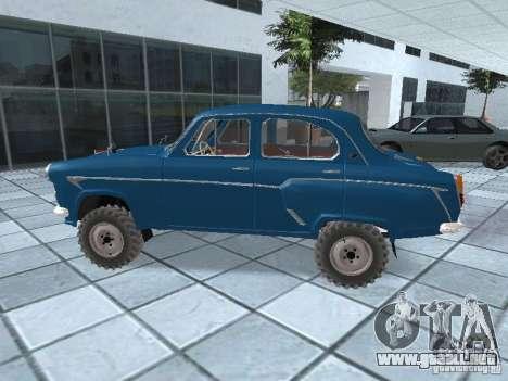Moskvitch 410 4 x 4 para GTA San Andreas left