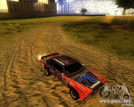 Bonecracker de FlatOut 1 para GTA San Andreas vista hacia atrás