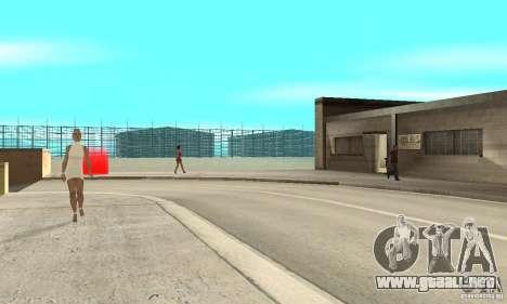 BikersInSa (los moteros en SAN ANDREAS) para GTA San Andreas sucesivamente de pantalla