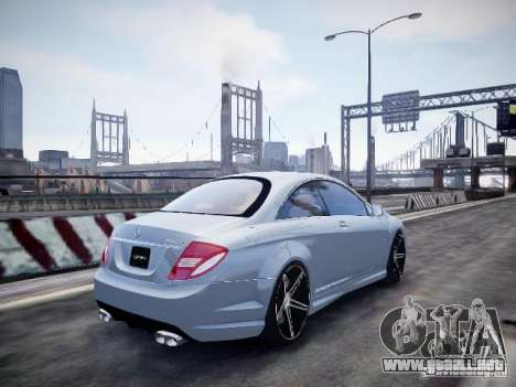 Mercedes-Benz CL65 AMG para GTA 4 left