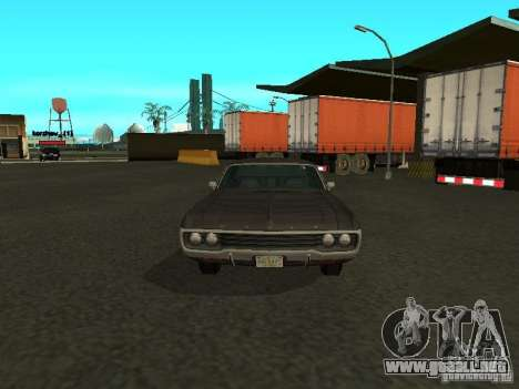 Dodge Polara 1971 para GTA San Andreas left