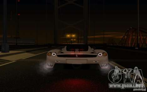 Ferrari Enzo ImVehFt para vista inferior GTA San Andreas