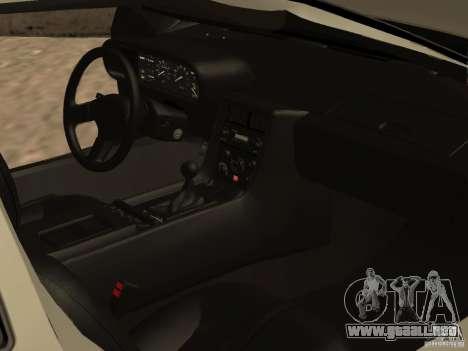 DeLorean DMC-12 para vista inferior GTA San Andreas