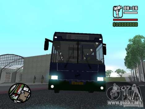 LIAZ 5256.25-II para GTA San Andreas vista hacia atrás