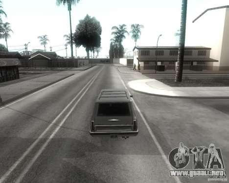 GTA SA - Black and White para GTA San Andreas sexta pantalla