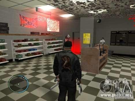 Russian Ammu-nation para GTA San Andreas sexta pantalla