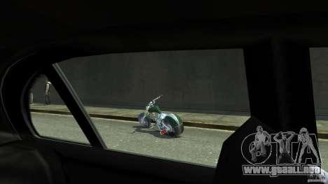 HellFire Chopper para GTA 4 vista hacia atrás