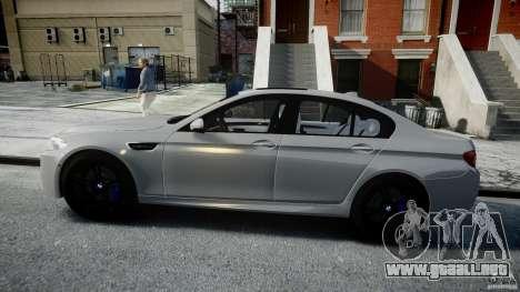 BMW M5 F10 2012 para GTA 4 left